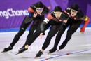 Longue piste: les Canadiennes échappent le bronze en poursuite par équipe
