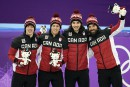 Relais canadien masculin: le bronze pour la fin d'une époque