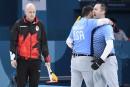 Curling masculin: le Canada s'incline face aux États-Unis en demi-finale