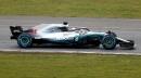 Lewis Hamiltonau volant de la nouvelle W09 EQ Power+ sur... | 22 février 2018