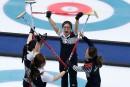 Curling féminin: la Corée du Sud en finale contre la Suède