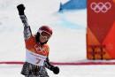 Après le super-G, Ester Ledecka gagne l'or en surf des neiges