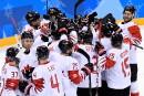 Hockey masculin: le Canada remporte le bronze