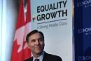 Bill Morneau fait valoir qu'Ottawa doit planifier à court et à long terme