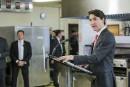 Trudeau qualifie d'«inacceptables» les tarifs évoqués par Trump