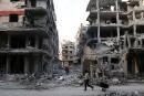 Syrie: violents combats dans la Ghouta, progression du régime