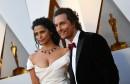 Matthew McConaughey et sa femme Camila Alves.... | 4 mars 2018