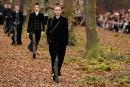 Pour l'automne, Chanel se promène dans les bois