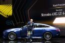 Dieter Zetsche, grand patron du Groupe Daimler, s'extrait de la... | 6 mars 2018