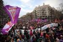 Grève générale sans précédent pour les femmes en Espagne