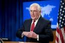 La pression sur la Corée du Nord a porté ses fruits, selon Tillerson