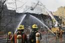 Un incendie majeur ravage un bâtiment au centre-ville de Montréal