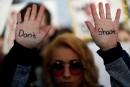 Daisy Hernandez avait écrit le message «Ne tirez pas» sur... | 24 mars 2018