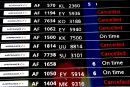 Grève d'Air France: 25% des avions cloués au sol mardi