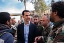 Frappes en Syrie: Assad déterminé à «lutter contre le terrorisme»
