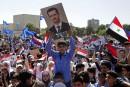 Des milliers de Syriens fêtent à Damas la «victoire» dans la Ghouta