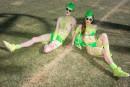 Des fleurs au bondage: la mode à Coachella
