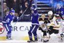 Les Maple Leafs rebondissent et battent les Bruins 4-2