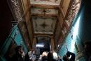 Saint-Pétersbourg: les entrées d'immeuble font la joie de touristes curieux