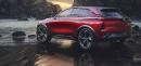 Le prototype tout électrique Buick Enspire.... | 23 avril 2018