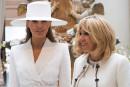 Brigitte Macron et Melania Trump, amies malgré des tempéraments opposés