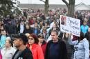 Marche silencieuse à la mémoire de la petite Rosalie à Québec