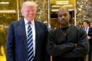 Kanye West dit son amour pour son «frère» Trump