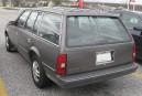 Sa première voiture - Une Chevrolet Cavalier familiale 1987 couleur... | 1 mai 2018