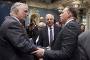 Sondage Ipsos-<em>La Presse</em>: la CAQ croit que «ça va se resserrer» avec le PLQ