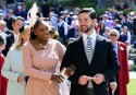 Serena Williams et son mari Alexis Ohanian.... | 19 mai 2018