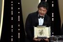 Palme d'or à Kore-Eda, l'actrice Asia Argento fait une déclaration-choc