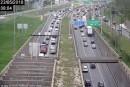 Congestion sur l'A25-Sud à Montréal à la suite d'un accrochage