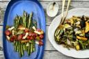 Salades grillées
