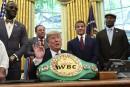 Trump réhabilite un champion du monde victime de racisme