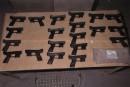 Procès Perfection Métal: des pistolets utilisés pour le meurtre de Ducarme Joseph et d'autres crimes