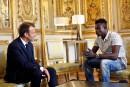 Macron naturalise le migrant malien qui a sauvé un enfant