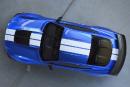 La future Mustang Shelby GT500 vue de haut