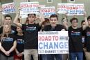 Les étudiants de Parkland en tournée contre la NRA