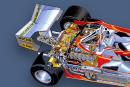 Ferrari 312 T3 -SUSPENSIONS ET FREINS -Avant:indépendante, triangles et leviers... | 5 juin 2018