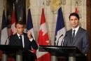 Trump ne peut imposer ses diktats au G7, dit Macron