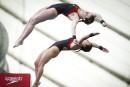 Meaghan Benfeito et Caeli McKay sur le podium en Chine