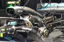 Mercedes W09 - 2018Puissance estimée à plus de 700kW (960ch)... | 7 juin 2018