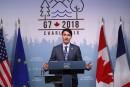 G7: Trudeau annonce une déclaration commune, mais des désaccords restent