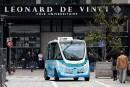 Les navettes Autonom Shuttle sont déjà en service à Courbevoie,... | 12 juin 2018