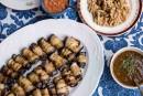 Aubergines et sauces traditionnelles