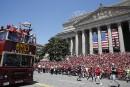 Les Capitals défilent avec la Coupe Stanley à Washington