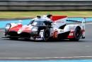 Fernando Alonso au volant de la Toyota TS050 Hybride, durant... | 13 juin 2018