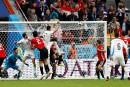 L'Uruguay arrache la victoire contre l'Égypte