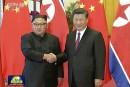 KimJong-un rend compte à Xi Jinping de son sommet avec Trump