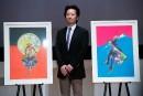 Le mangaka Hirohiko Araki entre au musée de Tokyo